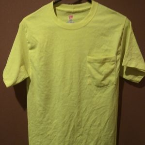 Hanes Neon Shirt Size Small